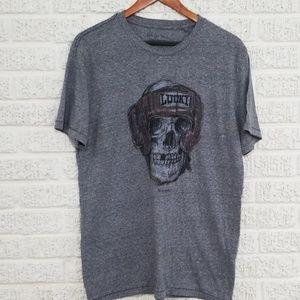 Lucky BRAND Cotton Boxing Skull Tshirt